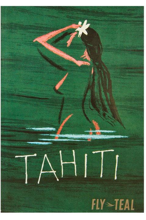 Teal Tahiti