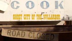 Cook, ghost town of The Nullarbor
