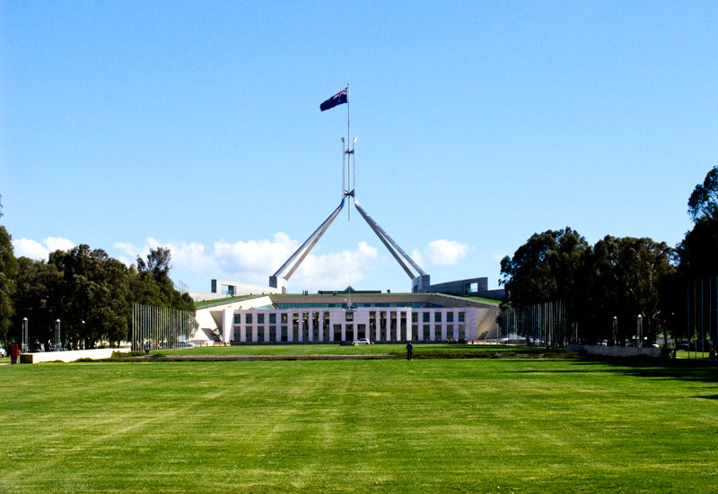 Parliament Buildings Canberra