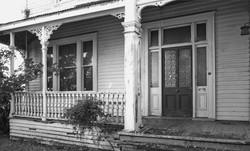 Front door verandah