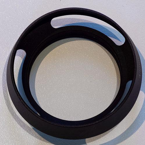 Lens hood, aluminium screw in, fits Voigtlander 35 and 40mm Noktons