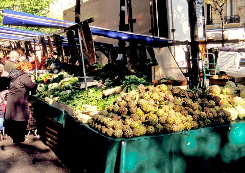 Rasphail Market, Paris
