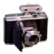 Voigtlander Perkeo II 120 film camera