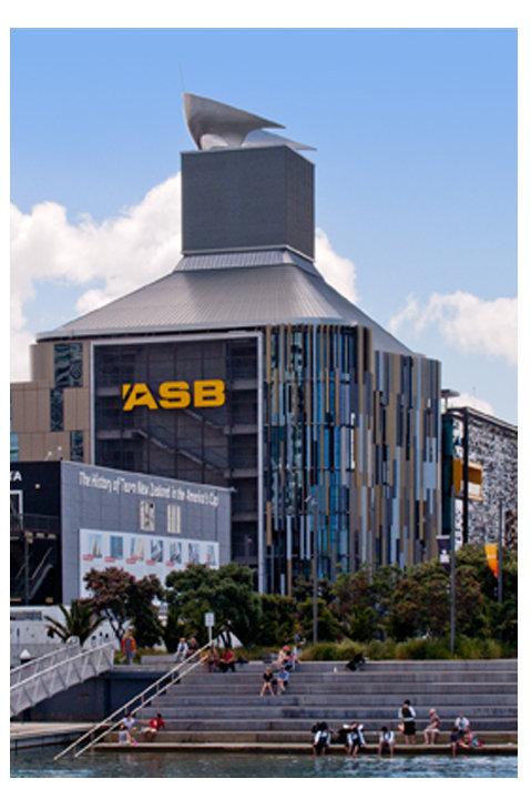 ASB Building, Wynyard Quarter, Auckland