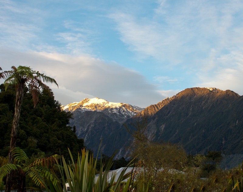 Franz Josef morning light