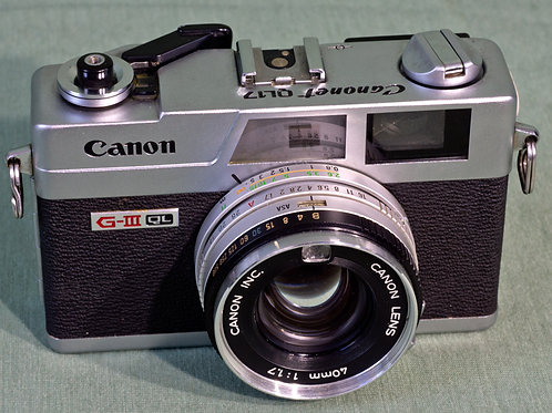 Canonet GIII-QL front view