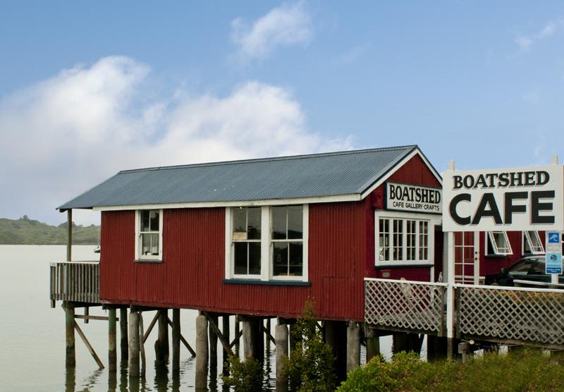 Rawene Boatshed Cafe