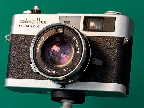 Minolta Hi-Matic  7s II 35mm rangefinder S#8014811