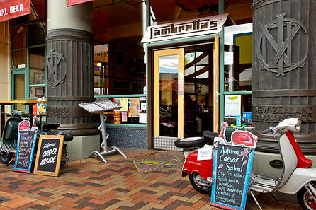 Lambretta's Cafe, Nelson South Is NZ