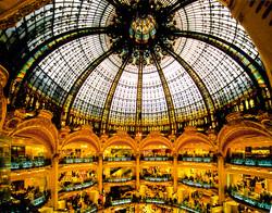 The Dome Galleries Lafayette, Paris