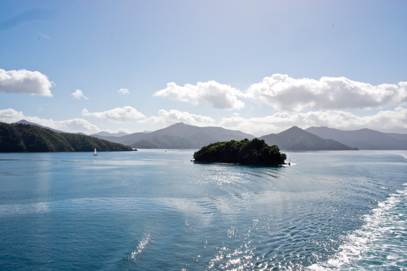 Marlborough Sounds Ferryarrival