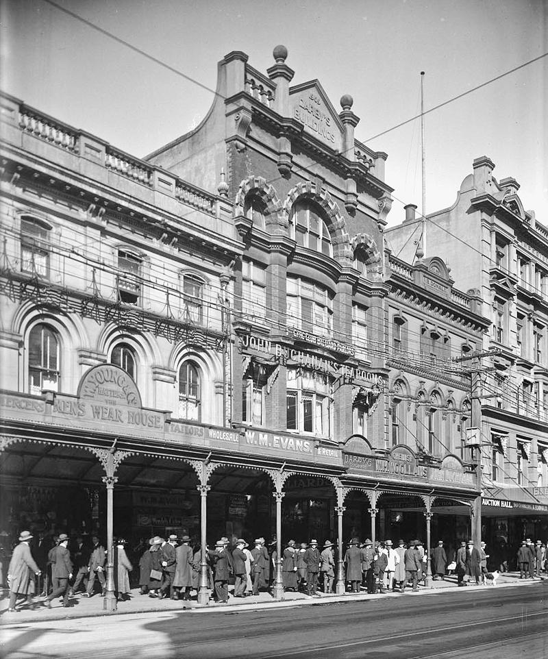 Queen St 1870s