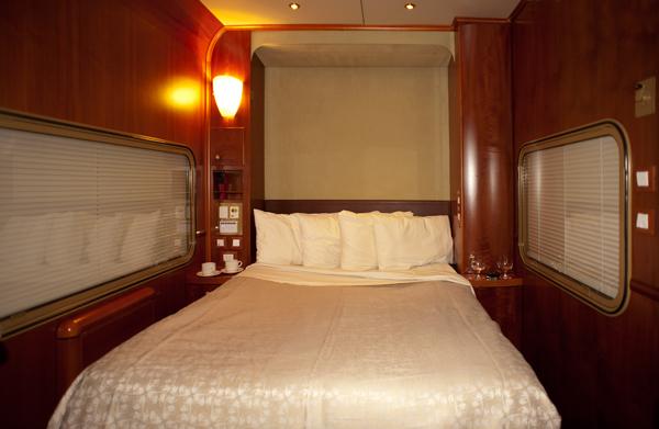Indian Pacific Platinum night cabin
