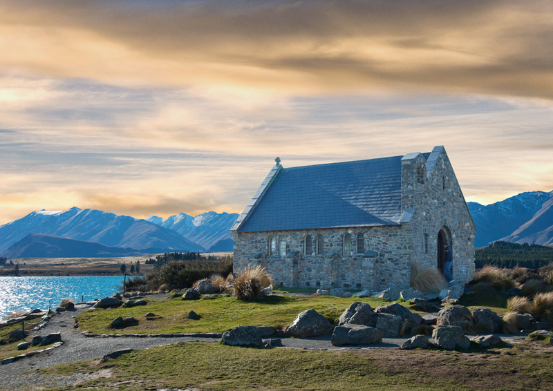 Church of the good shepherdTekapo