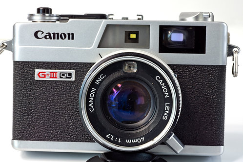 Canon GIII-QL front view