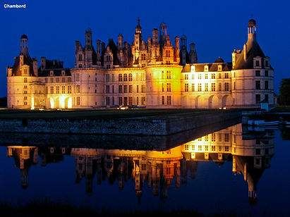Chambord on The Loire, France