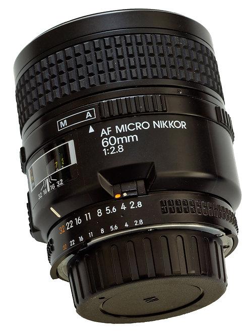 Nikkor AF 60mm Micro f2.8 main view
