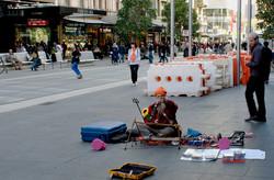 streetmusic, Bourke St Mall