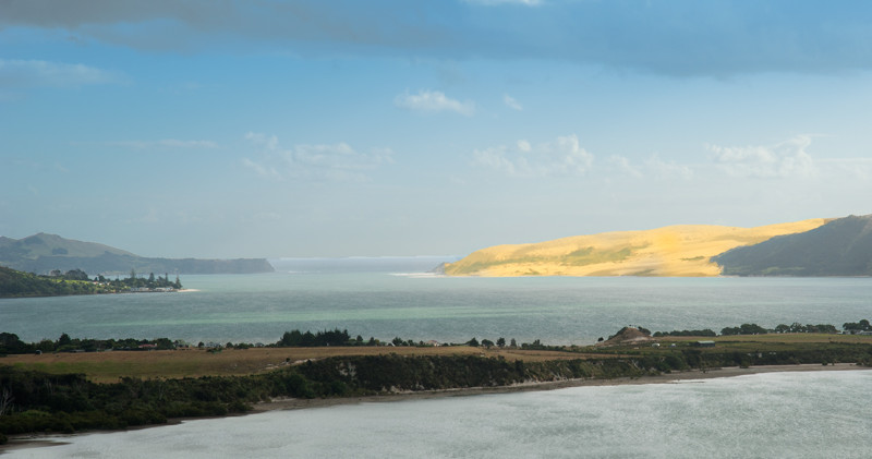 Hokianga Harbour North head dune
