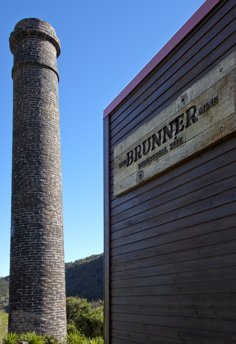 Brunner Mine on the Grey River