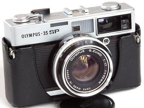 Olympus 35SP rangefinder film camera