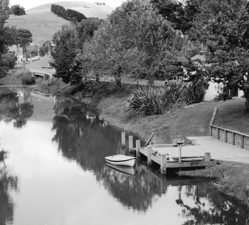 Puhoi river reflections