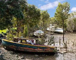 boats at KohuKohu