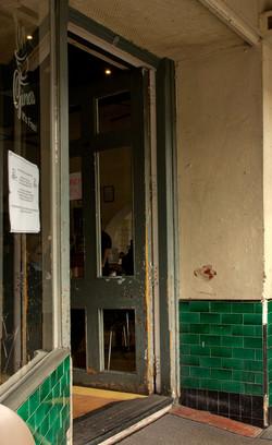 Gino's front door, Fremantle