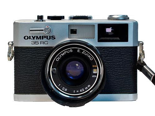 Olympus 35mm RC Rangefinder camera. S#559127