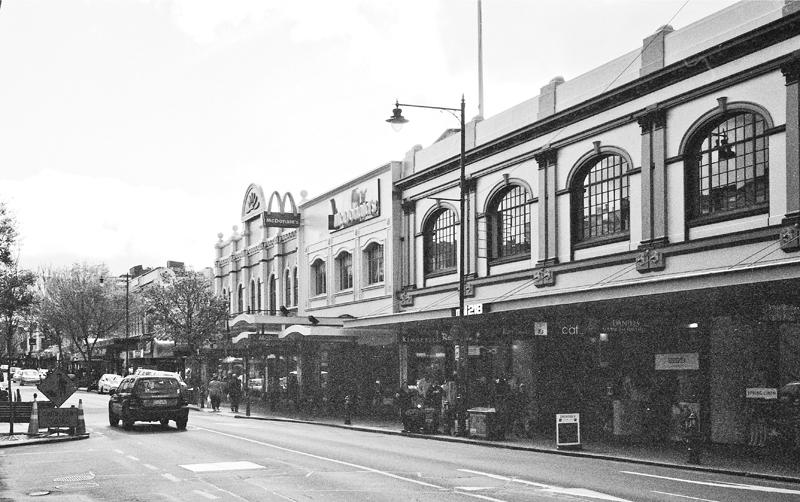 Dunedin street scene