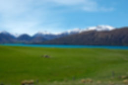 Lake Coleridge, South Is NZ