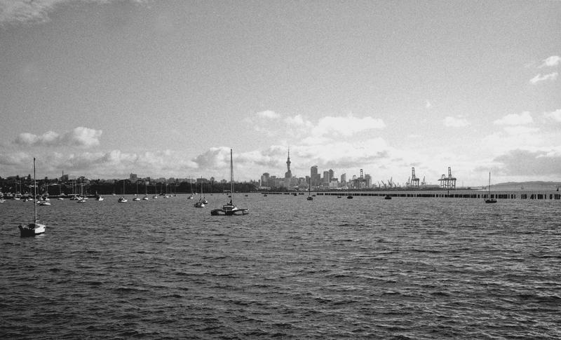 Auckland across Okahu Bay