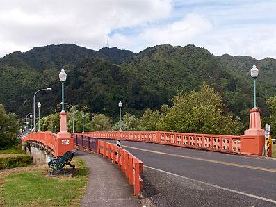 TeAroha Waihou River Bridge NZ