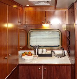 Indian Pacific Platinum kitchenette
