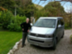 Alex with VW T5 California