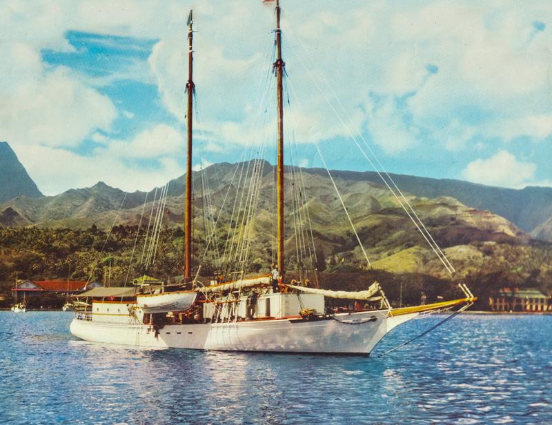 A.B.Donald Ltd schooner Vaitere