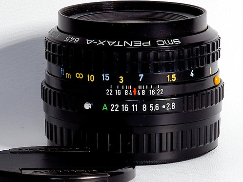 Pentax 645 SMC-A 75mm F2,8 lens