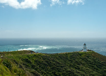 Cape Reinga - meeting of the oceans