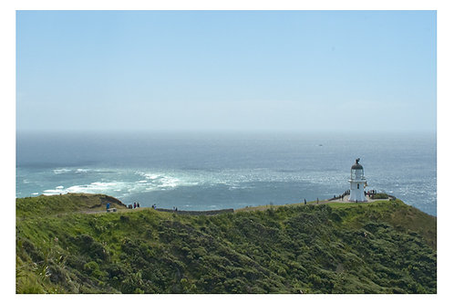 Cape Reinga meeting of the oceans