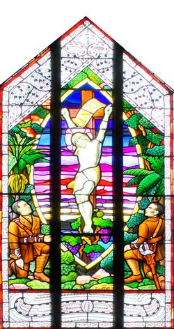 St Marys Church Stainglass window