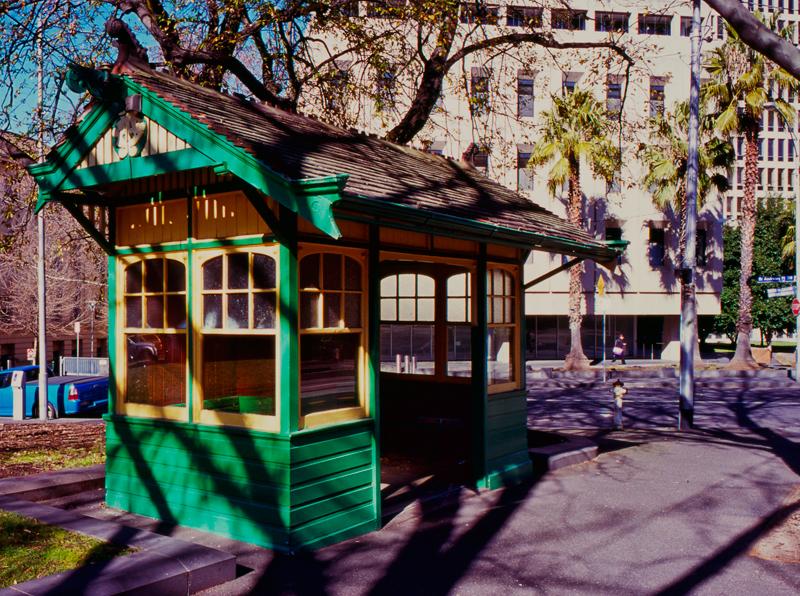Spring Street Bus Shelter Melbourne