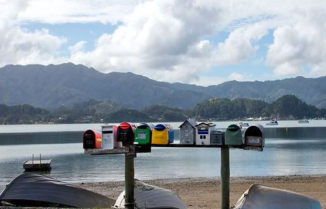 Post Retante for boaties Coromandel
