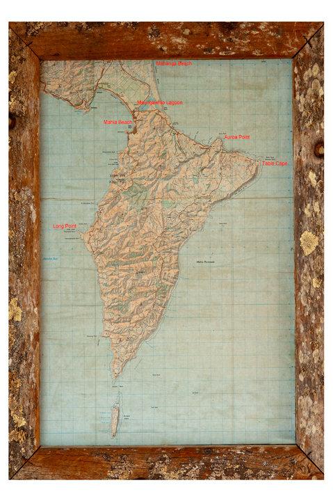 Mahia Map