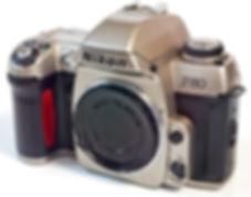 Nikon F80 SLR film camera