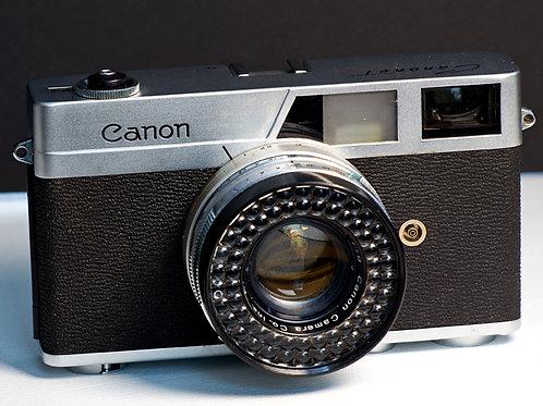 Canon Canonet SE, 45mm F1.9 Canon lens S#1022216