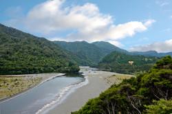Eastland Motu river scene