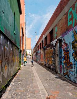Brunswick Lane Melbourne