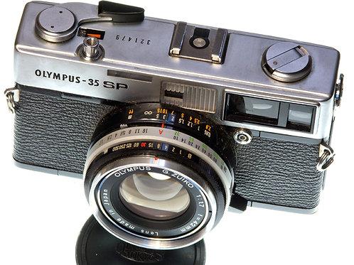 Olympus 35 SP rangefinder camera S#321479