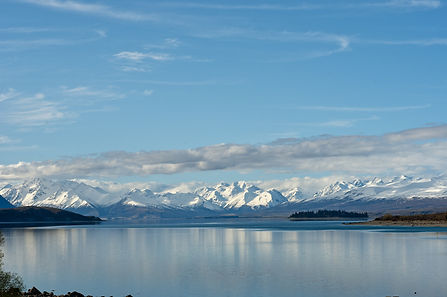 Lake Pukaki, South Is NZ Alpine views