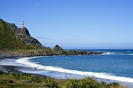 Cape Palliser Lighthouse North Is NZ